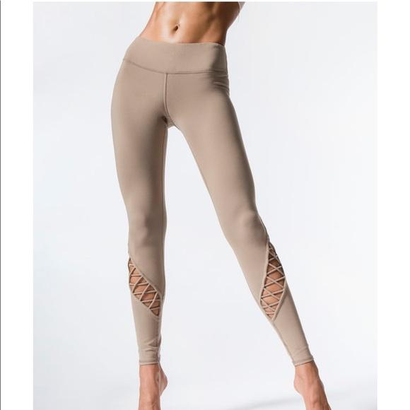 fe2ae74b018ad ALO Yoga Pants | Entwine Legging Gravel | Poshmark